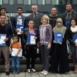 Feierstunde mit Sozialdezernent: 15 Personen eingebürgert