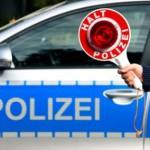 Unfallflucht auf der Hauptstraße: Gesuchter Straftäter nach wilder Flucht festgenommen