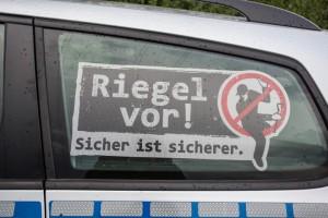 Wohnungseinbruch im Steigerweg: Täter hebeln Terrassentür auf
