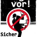 Einbrecher in der Münchener Allee