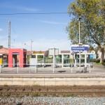 Gleisbauarbeiten im Bahnhofsbereich Holzwickede