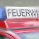 Feuerwehr löscht Kaminofen im Stennert