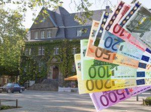 Geld gibt es auch in einem Bprgerhaushalt in Holzwickede nicht zu verteilen. (Foto/Montage:  Peter Gräber)