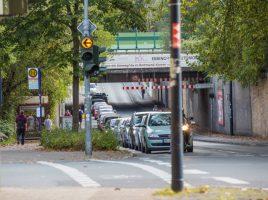 Die Bahnunterführung an der Nordstraße soll nach dem Willen der Grünen im kommenden Jahr endlich weiter aufgehübscht werden. Rd. 500 000 Euro stehen dafür im Haushalt bereit. (Foto: P. Gräber - Emscherblog.de)