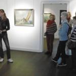 Kunstfreunde aus dem Bergischen Land zu Besuch bei Poppe Folkerts