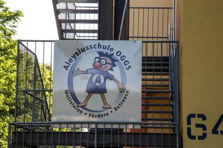 Bleibt auf absehbare Zeit erhalten: die Aloysiusschule mit ihrer Ganztagsbetreuung. (Foto: Peter Gräber)