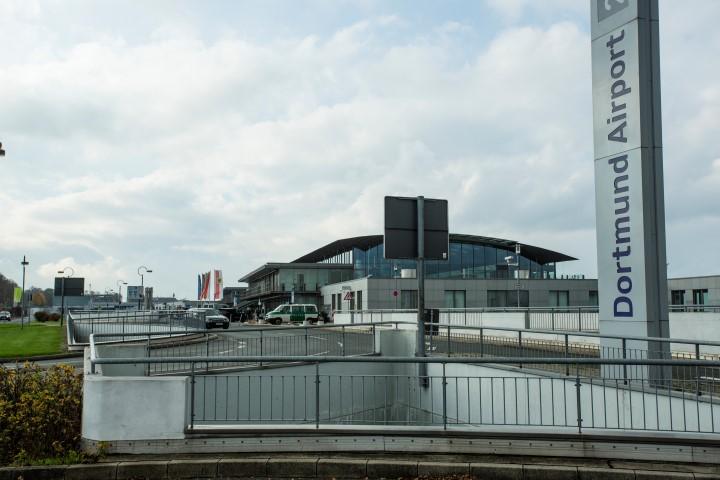 Der Flughafen Dortmund ist am kommenden Samstag Schauplatz einer Großübung. (Foto:Peter Gräber)