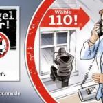Hövelstraße: Einbrecher hebeln Terrassentür auf