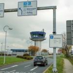 Hauptzufahrt am Flughafen wird vorübergehend gesperrt