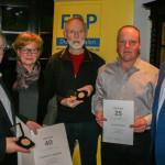 Liberale ehren langjährige Parteimitglieder