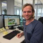 Bastian Risse ist Gute-Laune-Manager bei UNIQ im Eco Port