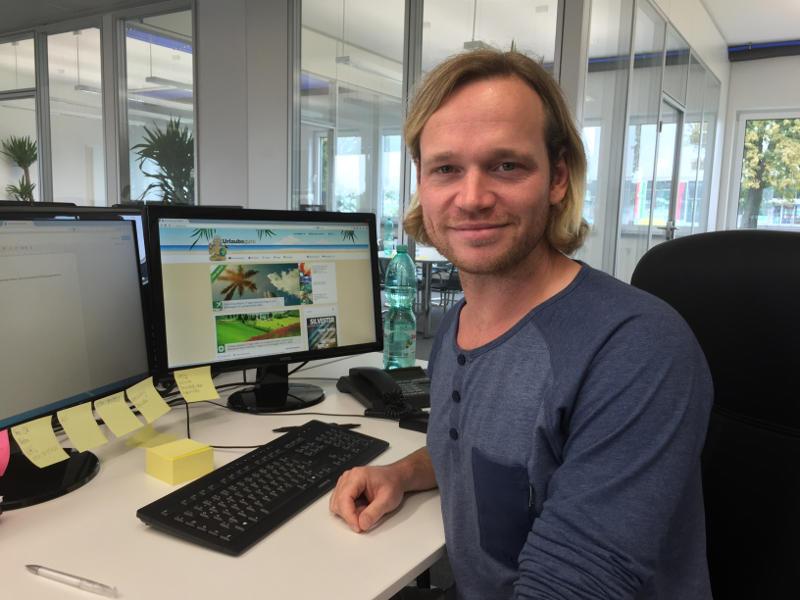 Als Feel-Good-Manager angestellt und für die gute Laune bei UNIX zuständig:  Bastian Risse. (Foto:UNIX)