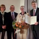 Mitbegründerin des HEV-Kindergartens: Bundesverdienstkreuz für Almuth Schneider