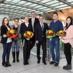 Nachwuchs am Airport beendet Ausbildung erfolgreich
