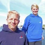 Käpt'n Arne und Sabrina gehen von Bord: DeAlbertha in gute Hände übergeben