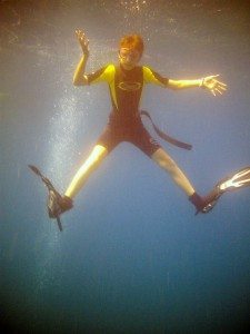 """""""Physik unter Wasser! Was Fische, Taucher und U-Boote beachten müssen"""" ist das Thema der Kinder-Uni im Februar in Holzwickede. (Foto: Peter Gräber)"""