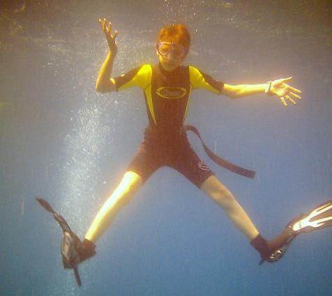"""""""Physik unter Wasser! Was Fische, Taucher und U-Boote beachten müssen"""" ist das Thema der Kinder-Uni idigital am 19. März. (Foto: P. Gräber - Emscherblog)"""