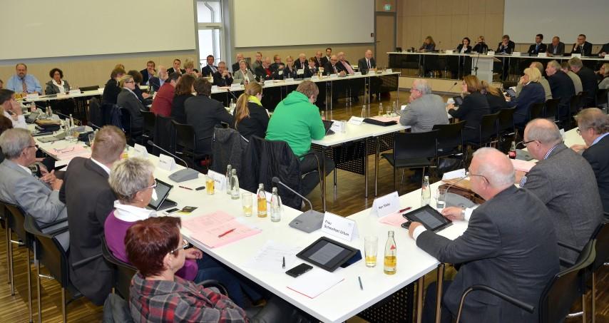 Sitzung des Kreistages. (Foto: B. Kalle - Kreis Unna)