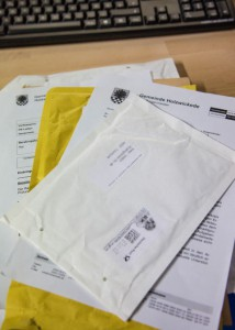 Der Postversand im Rathaus ist eine häufige Fehlerquelle, kritisiert der Bürgerblock. (Foto: P. Gräber)