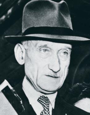 Der französischer Außenminister Robert Schuman. (Foto: privat)