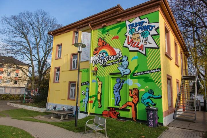 Der Treffpunkt Villa hält im 1. Halbjahr 2015 wieder spannende Angebote für Kinder und Jugendliche bereit. (Foto: Peter Gräber)