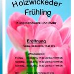 Im Forum blüht der 6. Holzwickeder Frühling