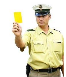 Neun junge Gewalttäter haben im Kreis Unna die Gelbe Karte gezeigt bekommen. (Foto: Bundespolizei)