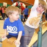 Kinder mit dem HSV in Bewegung