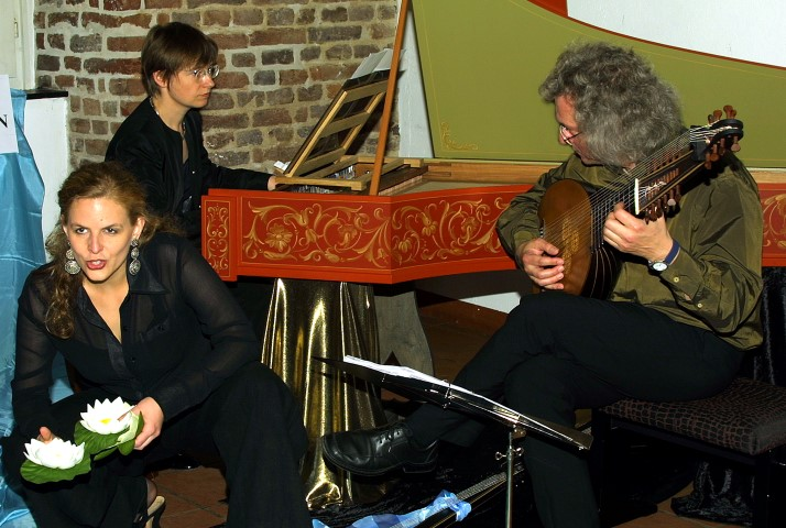 Balletto Terzo, Trio für Alte Musik, gastieren auf Haus Opherdicke. (Foto: E. Mühlhoff - Agentur)