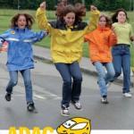 """ADAC-Aktion für Fünfklässler des CSG: """"Achtung Auto"""" auf dem Festplatz"""