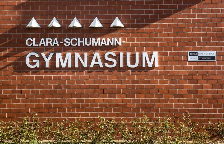 Nach einstimmigem Beschluss der Fraktionen im Hauptausschuss diese Woche soll die dauerhafte Vierzügigkeit beantragt werden: das Clara-Schumann-Gymnasium.  (Foto: P. Gräber - Emscherblog.de)