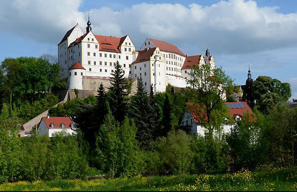 Natürlich steht auch eine Besichtigung des weltberühmten Schloss Colditz auf dem Besuchsprogramm. (Foto: Stadt Colditz)