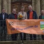 """Bürgerblock kritisiert """"unzulässige Wahlbeeinflussung"""" und Wahlplakate"""