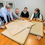 Historischer Verein übergibt wertvollen Kartenschatz