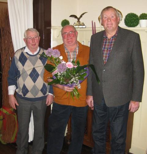 v.l..: Heinrich Fiene, Friedrich-Wilhelm Middelschulte, Wilhelm Eickel. (Foto: privat)