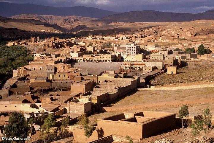 Im Tal des Dades in Marokko. (Foto: Dieter Gandras)