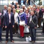 Gruppe des Perthes-Hauses in Berlin: Diskussion über Pflege und Altenhilfe