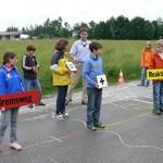 """Verkehrssicherheitstraining """"Achtung Auto!"""" für Fünftklässler des CSG"""