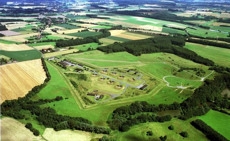 Die Raketenstation in Hengsen/Opherdicike aus der Vogelperspektive.  (Luftbild: K.H. Mielke)