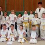 Gürtelprüfungen beim Judo-Club Holzwickede