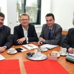 Treffen mit Bundestagsabgeordneten: Landrat erinnert an politisches Versprechen