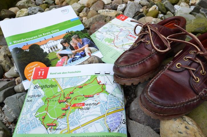 Der Kreis Unna gibt auf seiner Internetseite Tipps für 16 attraktive Wandertouren. (Foto: Kreis Unna)