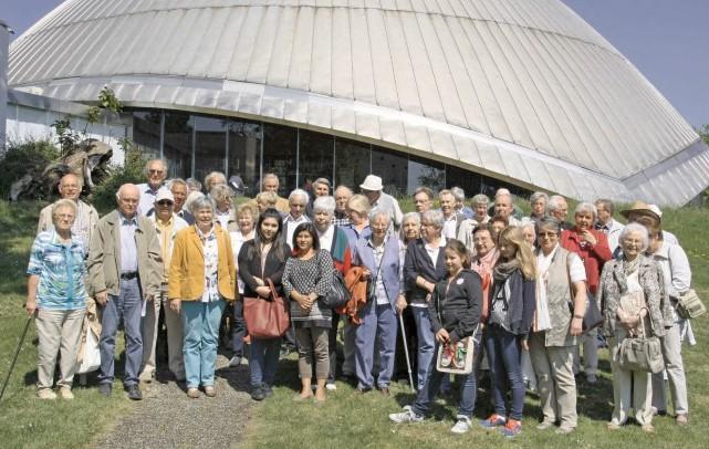 Detr Trägerverein der Begegnungsstätte besuchte mit 50 Teilnehmern das Planetarium in Bochum. Foto:_ K.H. Helms)