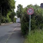 SPD fordert deutlichere Umsetzung von Tempo 30 für Rausinger Straße