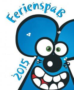 Das neue Logo des Ferienspasses: die blaue Maus.