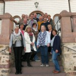 Bürgerblock fast komplett zur 750-Jahr-Feier in Colditz
