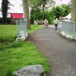Seniorenbeirat fordert Pflaster für Überweg im Emscherpark