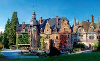 ZIel  eines Sommerausfluigs des DBC: das Schloss Rauischholzhausen. (Foto: DBC)