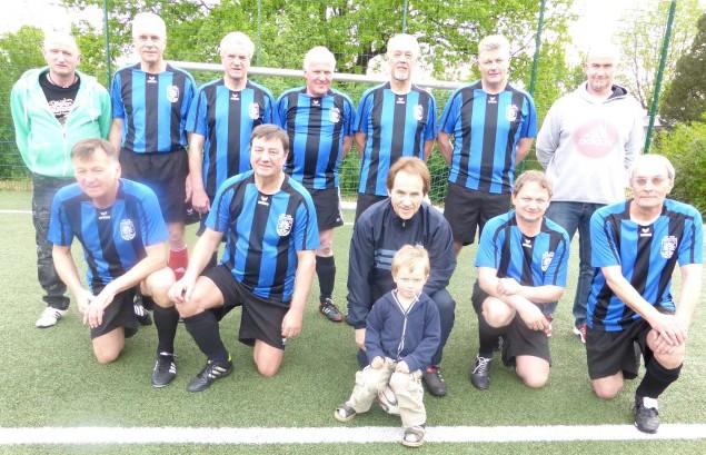 Die Ü 50 / Ü 60 der Spielvereinigung Holzwickede besiegte den Werner SC mit 5 : 1. (Foto: privat)