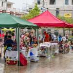 Ferienspaß mit großem Kindertrödelmarkt vor dem Rathaus eröffnet